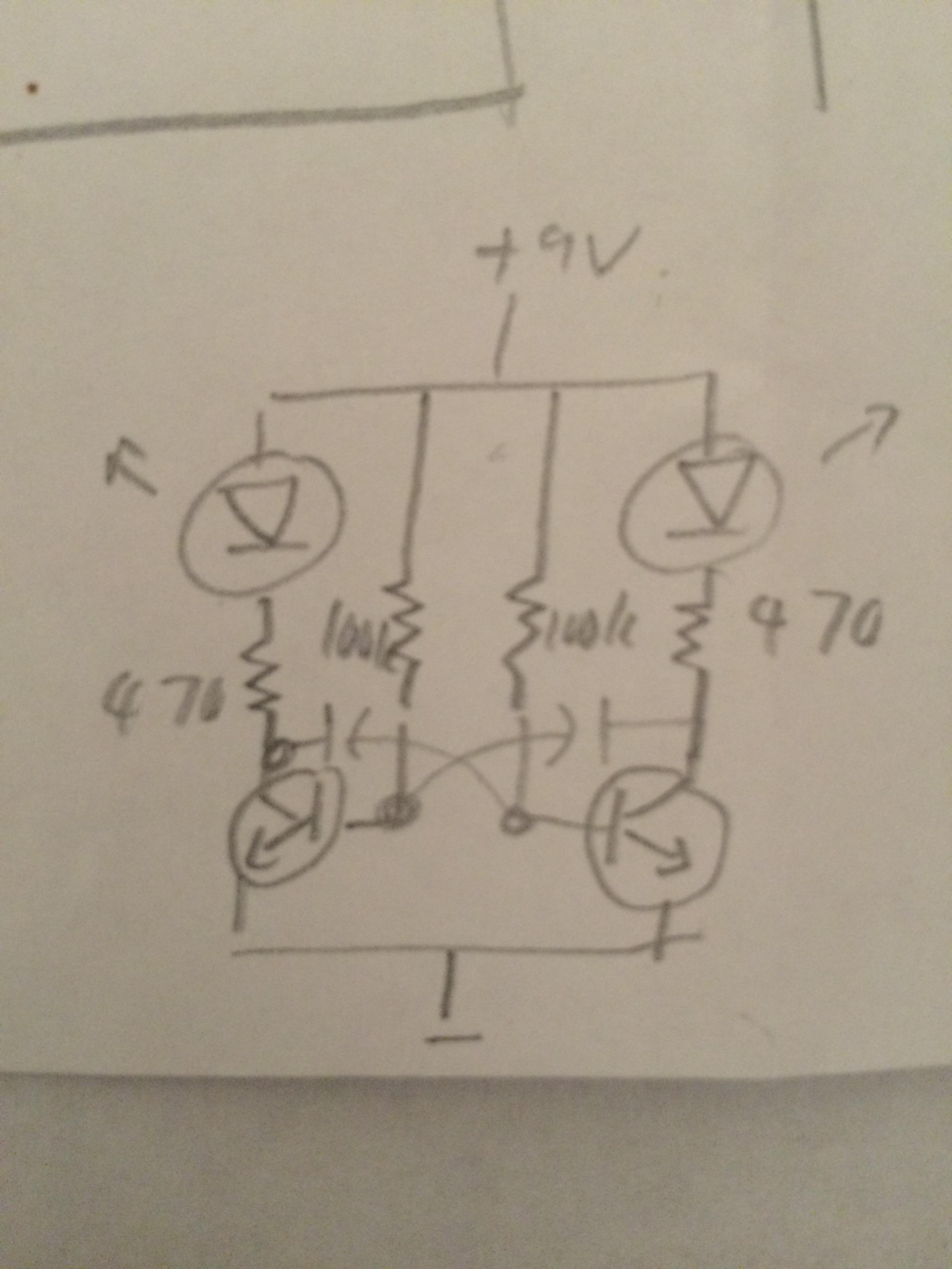 Science Dad Blinking Leds Circuit Diagram
